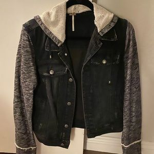 Free People Denim/Sweatshirt Jacket